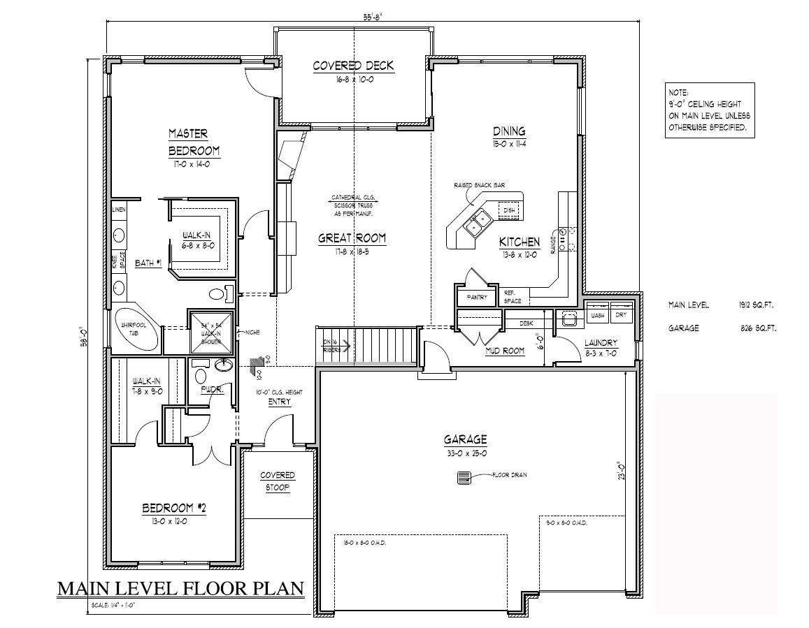 Evanstone Floor Plan