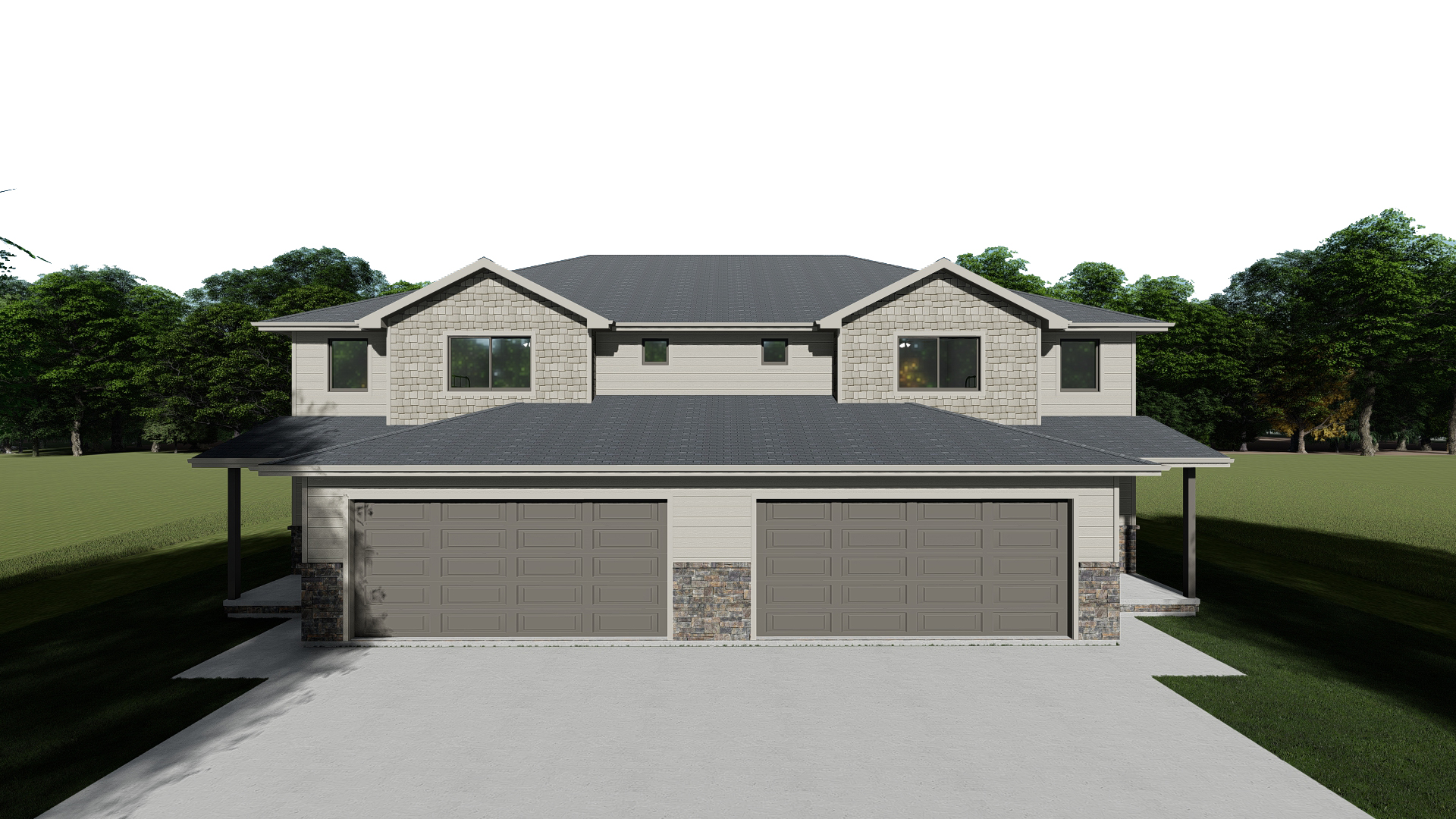 VA-103498 Render_Front Elevation NO Sky