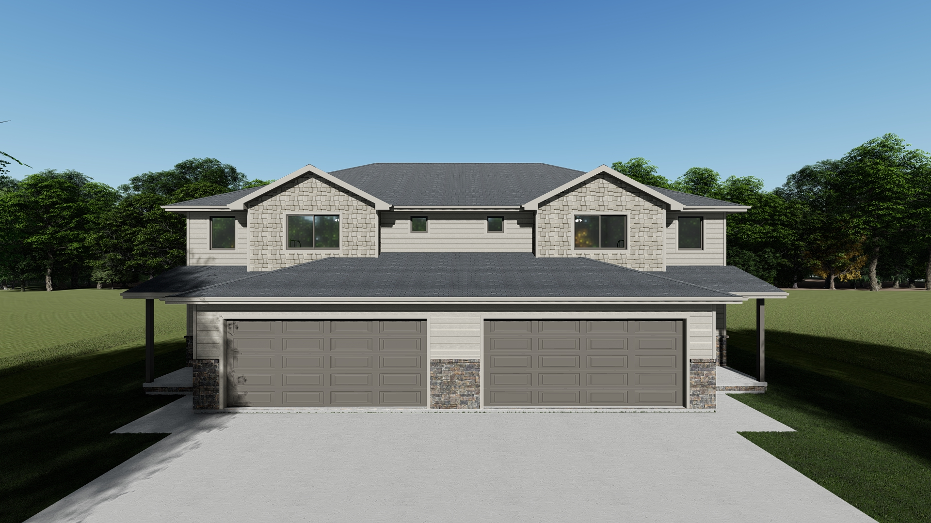 VA-103498 Render_Front Elevation